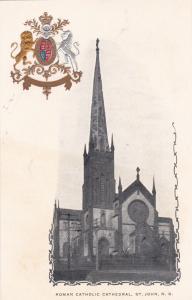 ST JOHN , New Brunswick , Canada , PMC 1898 ; Roman Catholic Cathedral