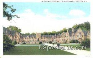 Dormitory Quadrangle, Duke University in Durham, North Carolina