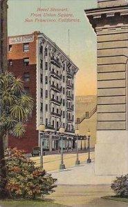 California San Francisco Hotel Stewart From Union Square