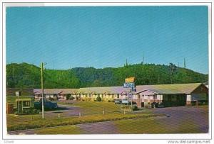 Winchester Bay Oregon Pacific Motel Hotel old cars , 50-60s