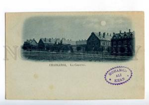 213676 BELGIUM CHARLEROI MOONLIGHT Vintage undivided back PC
