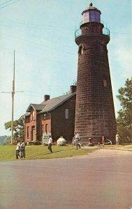 Fairport Lighthouse Marine Museum Ohio OH Postcard