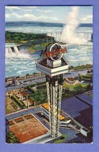 Niagara Falls, Ontario, Canada Postcard, Oneida Observation