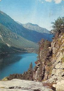 Poland Tatry Wysokie, Morskie Oko, High Tatras Mountains