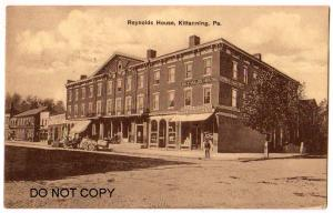 Reynolds House, Kittanning PA
