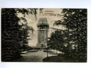 133193 GERMANY HILDESHEIM Bismarksaule Vintage postcard