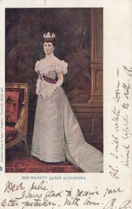 ENGLAND, PU-1903 ; Her Majesty Queen Alexandra, TUCK #246