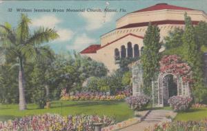 William Jennings Bryan Memorial Church, Miami, Florida 1930-40s