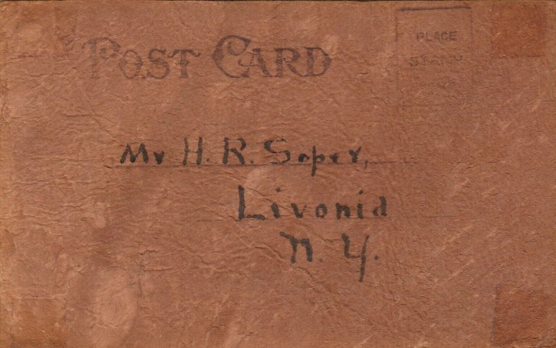 GENESEO , New York, 1906 ; Blow Yourself , Please