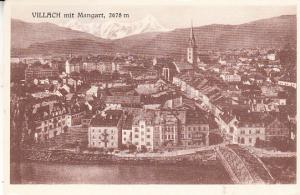 Villach mit Mangart 1923  Inflation Rate