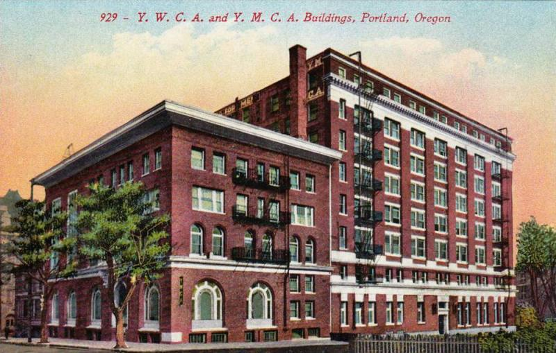 Y.W.C.A. and Y.M.C.A. Buildings,Portland,Oregon,00-10s