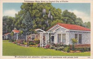 Florida Tallahassee Motor Hotel In Capitol City Of Florida