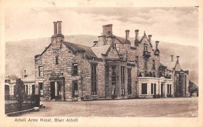 Scotland Blair Atholl, Atholl Arms Hotel, Valentine's Series