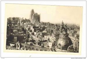 MADRID, Spain, PU 1946 .- Vista Parcial panoramica