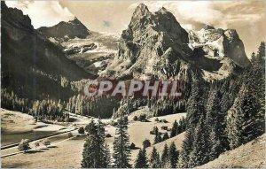 Modern Postcard Rosenlaui Gschwandtenmaad