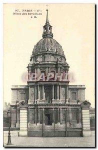 Postcard Old Paris 7 Dome des Invalides