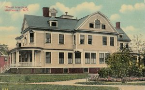 MIDDLETOWN , New York, 1900-10s ; Thrall Hospital Version-2