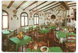 Spain, Tossa de Mar, Restaurante-Bar SA VILA VELLA, 1975 used Postcard