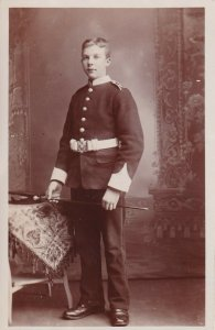 RP: Portrait of Military Young Man, 1910-20s