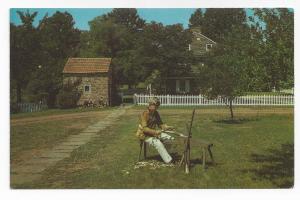 Daniel Boone Homestead Reading Boumstown PA 1969 Postcard