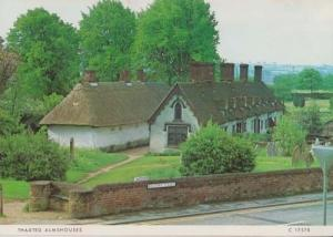 Thaxted Village Almshouses Stunning Essex Photo Postcard