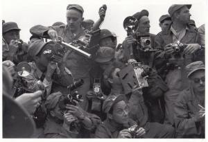 1950s Military Korea Korean Army as Photographer Paparazzi Asian Camera Postcard