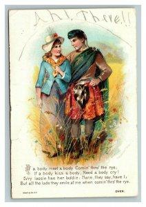 Vintage 1890's Advertising Card Dr. D. Jayne Sanative Pills
