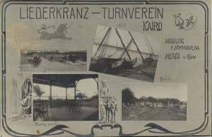 egypt, CAIRO CAIRE, Multiview, Liederkranz Artistic Gymnastics Club (1911)