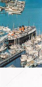 S.S. Lady Alexander Floating Restaurant , Coal Harbor , Vancouver ,  B.C. , C...
