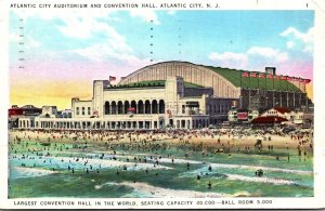 New Jersey Atlantic City Auditorium and Convention Hall 1936