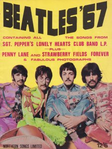 The Beatles 67 All Songs From Sgt Peppers LP Penny Lane Rare Sheet Music Album