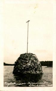 Canada - Ontario, Charleston. Englishman's Monument   *RPPC