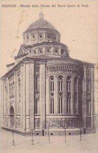 Italy Bologna Abside della Chiesa del Sacro Cuore di Gesu