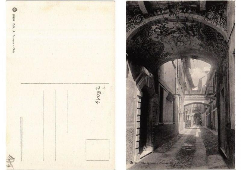 CPA AK Orta Via Giacomo Giovanetti. ITALY (397982)