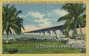 Overseas Highway Bridge Key West FL Unused