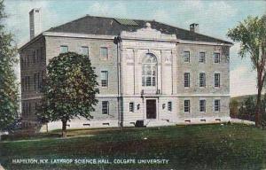 New York Hamilton Lathrop Science Hall Colgate Unversity