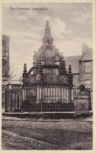 The Fountain, Linlithgow, West Lothian, Scotland, UK, 1910-1920s
