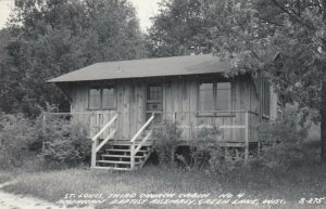 RP: GREEN LAKE, WI,30-40s; St. Louis 3rd Church Cabin, American Baptist Assembly