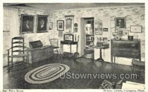 Earl Percy Room, Munroe Tavern Lexington MA Unused