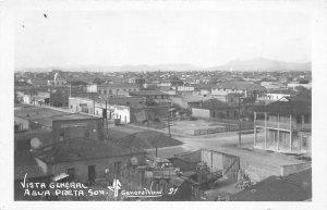 F55/ Agua Prieta Son. Mexico Foreign RPPC Postcard c50s General View 2