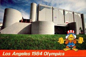 1984 Los Angeles Olympics Weightlifting Albert Gerston Pavilion 1984