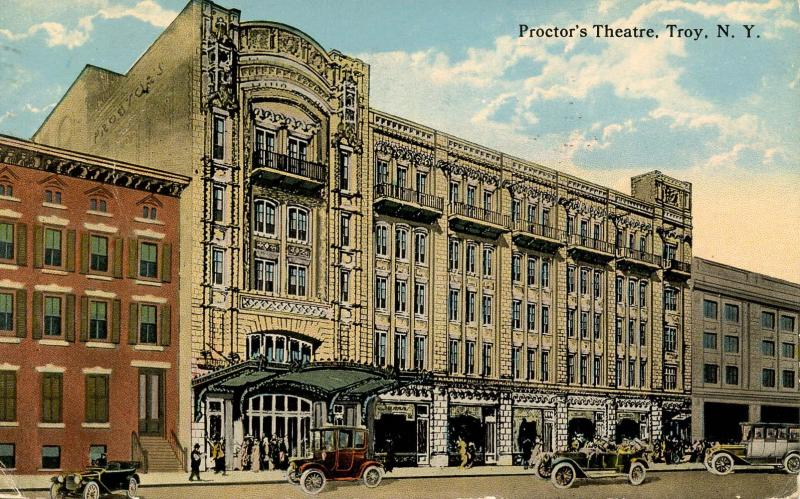 NY - Troy. Proctor's Theatre