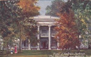 Home Of Andrew Jackson The Hermitage Near Nashville Tennessee 1909