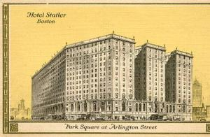 MA - Boston, Hotel Statler (Later became a Hilton & now it's Boston Park Plaza.)
