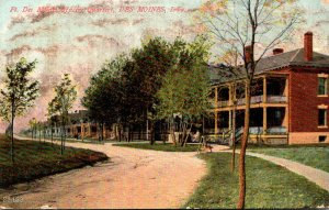 Iowa Des Moines Officers Quarters Ft Des Moines 1908