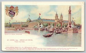 St Louis 1904 World's Fair~Ahead As Usual Fill In Blank~Regal~Varied Industies