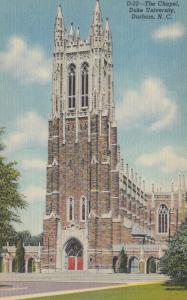 DURHAM , North Carolina , 30-40s ; Chapel , DUKE University