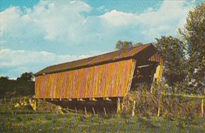 Ohio Noble County Parish Covered Bridge #34