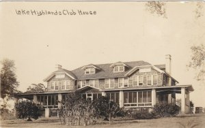 RP: LAKE HIGHLANDS , New Jersey , 1900-10s ; Club House