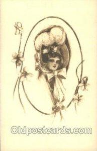 Artist Signed Charles Dana Gibson, Postcard Postcards unused